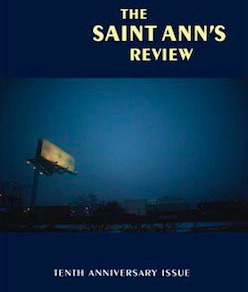 """Cover of """"The Saint Ann's Review"""" (a literary journal)."""
